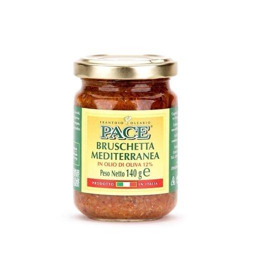 Bruschetta Mediterranea in Olio di Oliva
