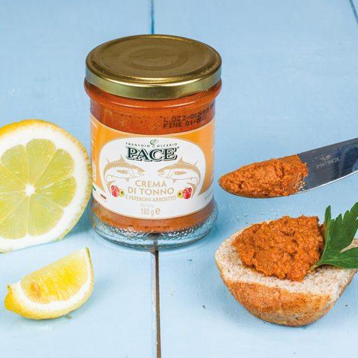 Crema-di-Tonno-e-Peperoni-all'olio-di-oliva