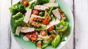 insalate all'olio di oliva
