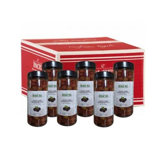 Olive-Nere-Denocciolate-in-salamoia---Confezione-regalo